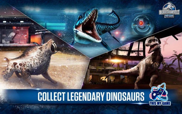 เกมมือถือ จูราสสิกเวิลด์ Jurassic world