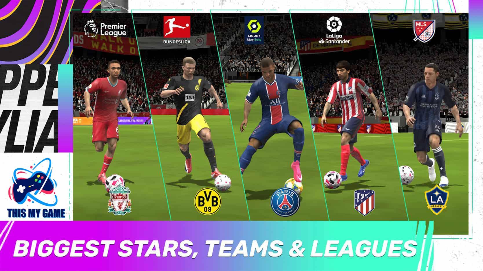 เกมส์มือถือ ฟีฟ่า 2021